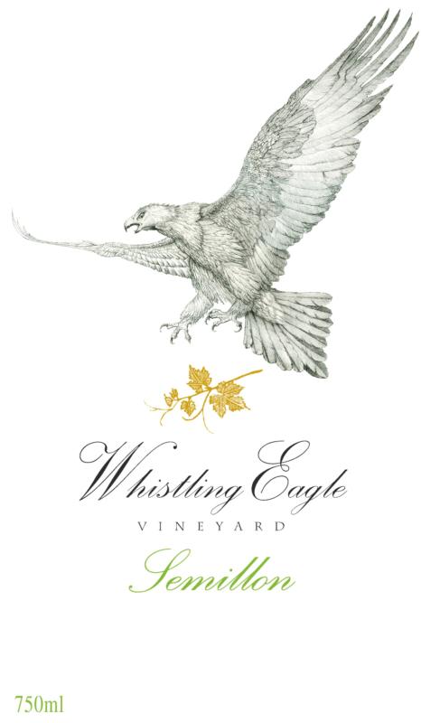Whistling Eagle Semillion label