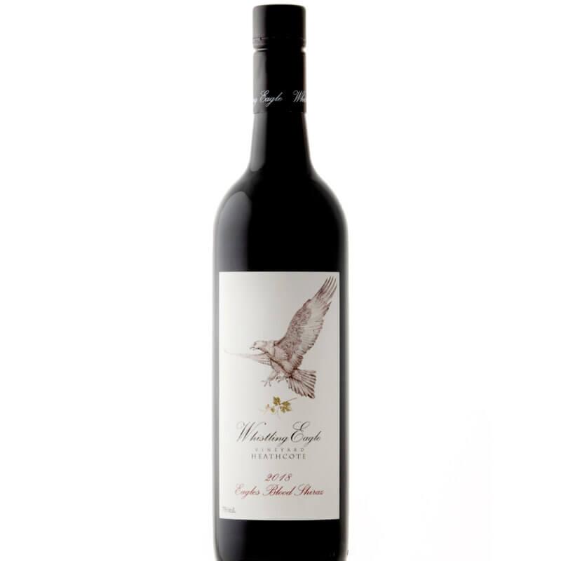 Bottle of 2018 Whistling Eagle 'Eagles Blood' Shiraz